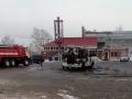 На Предмостной площади сгорел автобус маршрута № 120