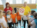 Сотрудники ГИБДД приняли участие в городской эстафете по ПДД