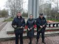 Сотрудники отделения вневедомственной охраны поздравили ветеранов