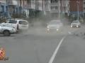 Пьяный житель Сосновоборска устроил аварию пытаясь сбежать от ГИБДД (ВИДЕО)