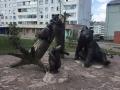 В Сосновоборске вандалы изуродовали скульптуру