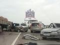 Водитель вылетел на «встречку» и устроил массовое ДТП с пострадавшими