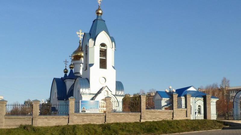 Свято-Введенская церковь (г.Сосновоборск)